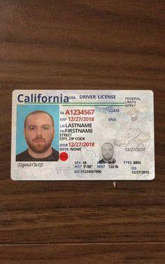 Buy new drivers license online Passport Template, Id Card Template, Card Templates, Print Templates, Ca Drivers License, Drivers License California, Driver's License, Birth Certificate Template, Passport Online