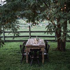 southern summer farm supper   #gatheringfromscratch