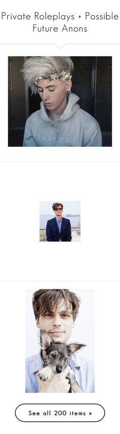 """""""Private Roleplays + Possible Future Anons"""" by lukeimbatman ❤ liked on Polyvore featuring conner dennis, criminal minds, people, matthew gray gubler, photos, models, vince kowalski, odette, boys and girls"""