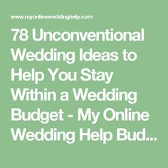 how to dj your own wedding pitchfork 78 unconventional wedding ideas to help you stay within a wedding budget my online wedding