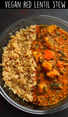 Vegan Red Lentil Stew