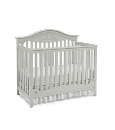 Fisher Price Mia 4-in-1 Convertible Crib - Misty Grey