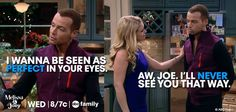 "S3 Ep23 ""Couples Therapy"" - Haha, we know the truth, she loves him #MelissaAndJoey"