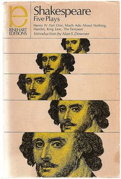 Shakespeare: Five Plays - Vintage Stage Play Script Book - 1968 - $8.00