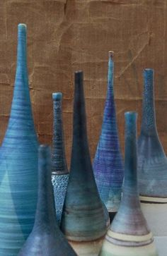 Bottles : Heather Levine Ceramics