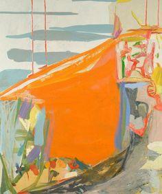 Amy Sillman, Cliff 2, 2005, Oil on canvas, 183 x 152 cm