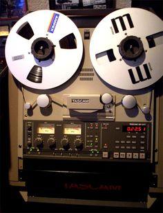 Reel to Reel tape - Tascam BR-20T - www.remix-numerisation.fr - Transfert Numérisation restauration audio
