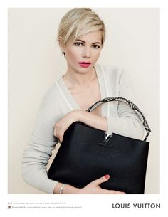 ☆ Michelle Williams | Photography by Peter Lindbergh | For Louis Vuitton Campaign | Spring 2014 ☆ #Michelle_Williams #Peter_Lindbergh #Louis_Vuitton #2014
