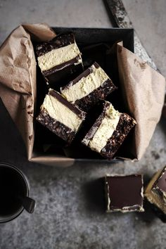 i love nanaimo bars, they are a Canadian treat that consists of a biscuit layer, a butter cream layer and a chocolate layer. i was lucky enough to have a family member who lived in Canada so i was ...
