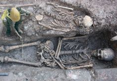 A recent archeological dig has unearthed no less than two dozen skeletons of giant proportions near the ancient ruins of Rujm el-Hiri, located in the Golan Heights, a contested area claimed by both
