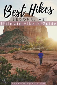Looking for the ultimate hiker's guide for Sedona, AZ? In this travel guide we highlight the best hikes in the area. There are tons of stunning hikes in the area that will simply take your breath away. #sedona #arizona #hikers #guide #besthikes Hiking Spots, Hiking Tips, Backpacking Tips, Arizona Travel, Arizona Trip, Sedona Arizona, Arizona Attractions, Us Travel Destinations, Winter Hiking