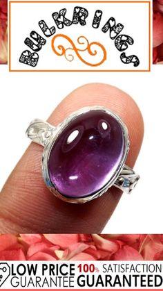 Silver Rings With Stones, Sterling Silver Rings, Amethyst, Gemstone Rings, Gemstones, Jewelry, Jewlery, Sterling Silver Thumb Rings, Gems
