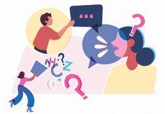Illustration about communication for Mezza magazine. Evans, Kids Rugs, Magazine, Illustrations, Creative, Design, Kid Friendly Rugs, Illustration, Illustrators
