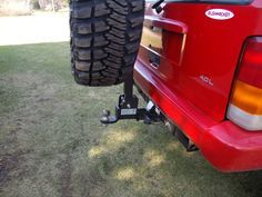 My $55.00 spare tire carrier