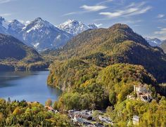 Hohenschwangau Castle in Bavaria Alps   TOP 10 Best Places to Visit in Germany