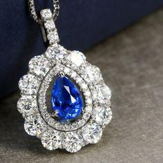 大粒アウイナイト0.64ct ダイヤモンド1.78ct プラチナ ネックレス hyunite necklace http://www.rejou.jp/?mode=grp&gid=1107081&sort=n