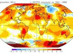 Global Temps. 2014 Was The Hottest Year Since At Least 1880, Government Finds