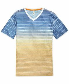 Univibe So Shady Sublimated V-Neck T-Shirt - Tees & Tanks - Men - Macy's