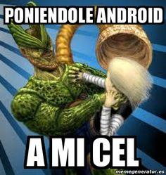 Android a mi Cel 18 Version 1