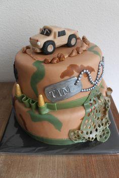 Korps Mariniers taart