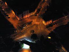 Detail nočního města