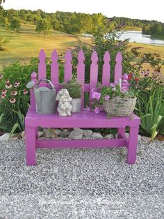 59 Ideas garden fence picket easy diy for 2019 - Easy Diy Garden Projects Diy Garden, Garden Crafts, Garden Projects, Picket Fence Garden, Garden Fencing, Picket Fence Crafts, Outdoor Projects, Outdoor Decor, Outdoor Living