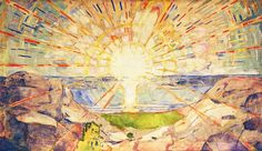 The Sun, 1909 by Edvard Munch