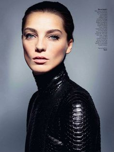 Daria Werbowy by Cass-bird for l'Express styles