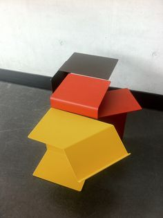 Congratulations to our team! With the Diana sidetables by Konstantin Grcic in New Colours   worldcup, germany, awesome