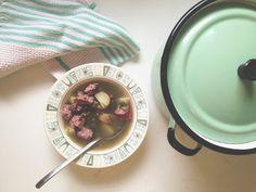 Oh So Lovely Vintage - recipe for mennonite Zumma borscht
