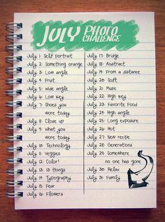31 Day Photo Challenge