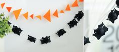 Easy DIY Halloween Garlands via @Small Fry