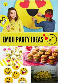 Emoji Party Ideas: