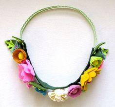 make flower crown headbands.