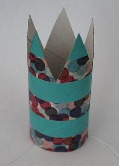 DIY: Karnevalskrönchen aus Toilettenpapier-Rolle