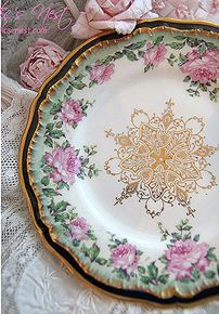 Limoges cakeplate