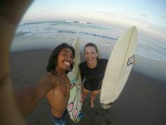 Early morning surf session🏄🏄