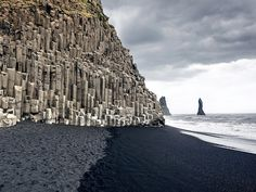 Why we love it: V�k is Iceland's southernmost village, and spectacularly shaped basalt columns on the nearby Reynisfjara shore help make it the most impressive black-sand beach in the country.