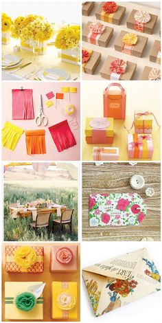 Inspiration: Cheerful Summer Party