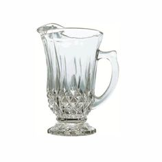 jarra de vidro 1,1 litro design de luxo p/ servir suco água
