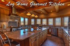 In my dream home I love a lot of counters and space in my kitchen...