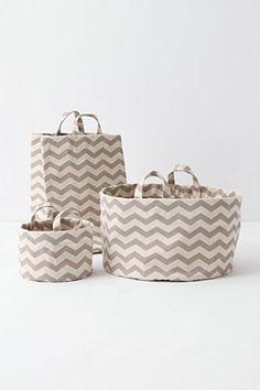 bath baskets from anthro
