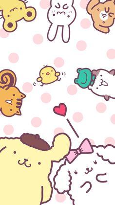 Cute Screen Savers Iphone Wallpapers Kawaii Wallpaper New Ideas Sanrio Wallpaper, Iphone Wallpaper Kawaii, Hello Kitty Wallpaper, Cartoon Wallpaper, Cute Screen Savers, Sanrio Danshi, Iphone Hintegründe, Pochacco, Apple Watch Wallpaper