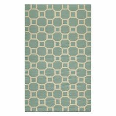 Ovalle Rug 8x10 Aqua, $799, now featured on Fab.