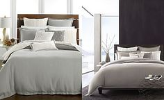 Hotel Collection Linen Fog Bedding Collection, Only at Macy's