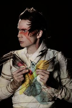 Jonsi: Probably the most amazing ethereal voice ever, his love for life and nature is perfectly transmitted trough his music.