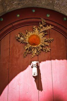 Beautiful door knob, Herault, France