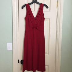 REDUCED NWT Banana Republic red wool dress. NWT Banana Republic red wool dress. Perfect for holiday parties! Pet & smoke free home. Banana Republic Dresses