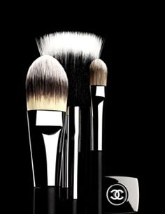 Chanel ~ makeup brushes http://www.cheaparmacmakeup.com/chanel-cosmetics-c-49.html