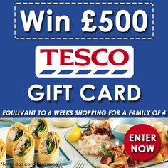 Win £500 Tesco Gift Card